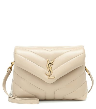 Toy Loulou Leather Shoulder Bag | Saint Laurent - Mytheresa