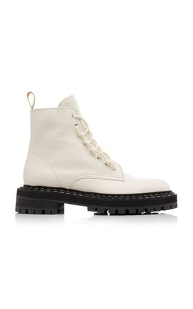 Leather Combat Boots By Proenza Schouler | Moda Operandi