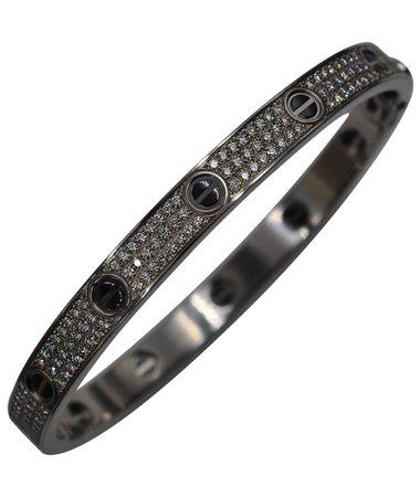 black Cartier bracelet