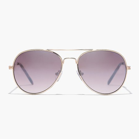 J.Crew: Kids' Aviator Sunglasses