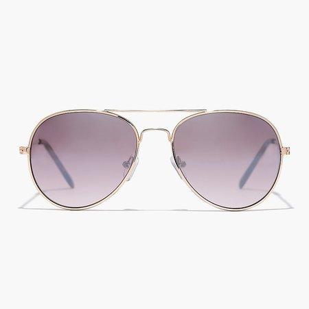 J.Crew: Kids' Aviator Sunglasses