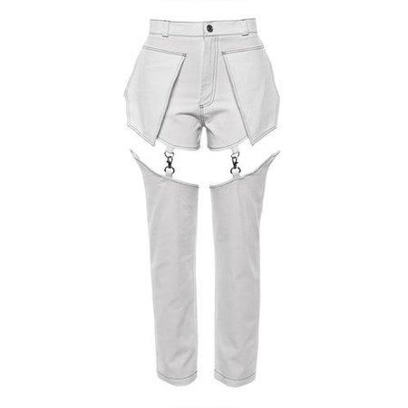 white kpop pants - Google Search