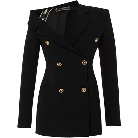 Versace double-breasted blazer