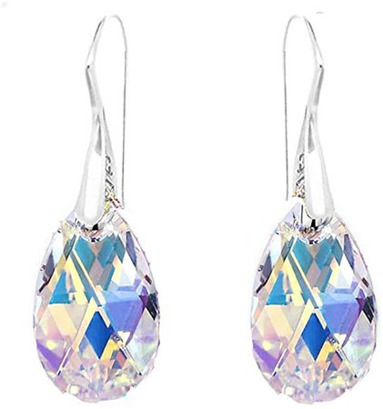 Aurore Boreale Crystals Earrings