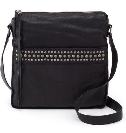 Mystic Studded Leather Crossbody Bag