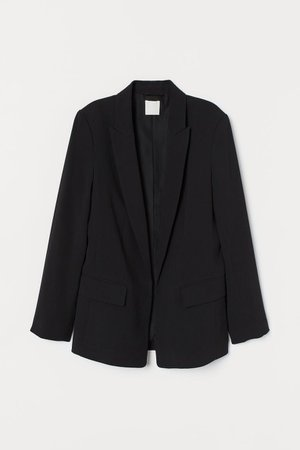 Long jacket - Black - Ladies | H&M GB