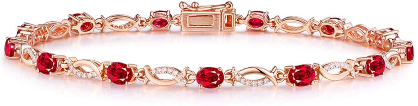 Rubis bracelet