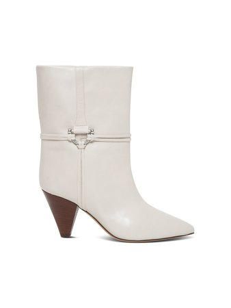 Isabel Marant Lilet Boots In Smooth Leather