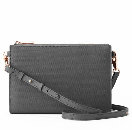 Essentials Coated Canvas Clutch/Wallet