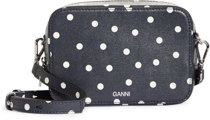 Leather Camera Crossbody Bag
