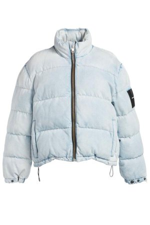 Alexander Wang.T Denim Puffer Jacket - Bleach – Grace Melbourne