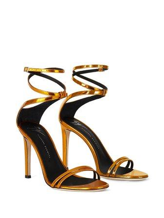 Giuseppe Zanotti Catia Leather Sandals - Farfetch