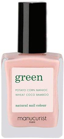 Green Nail Lacquer - Bare Skin