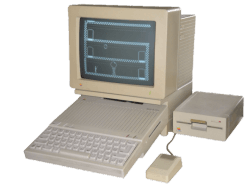 Old Computer png