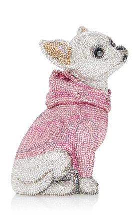 Bruiser Chihuahua Clutch by Judith Leiber Couture   Moda Operandi