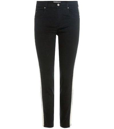 Haven striped jeans