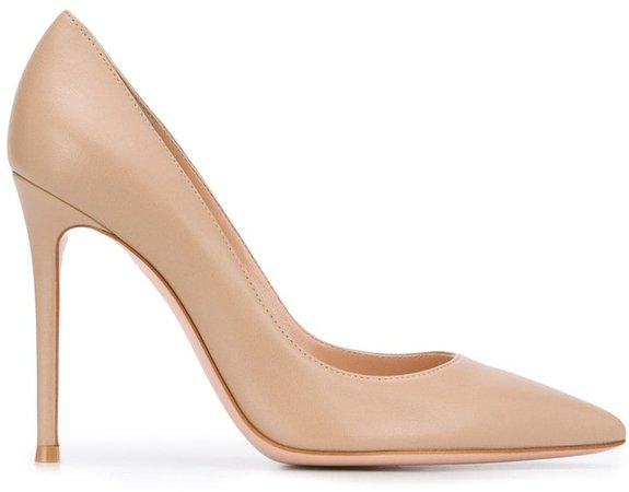 Pointed Toe 110mm Heeled Pumps