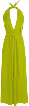 SDress - Lucy Pistachio Halterneck Dress