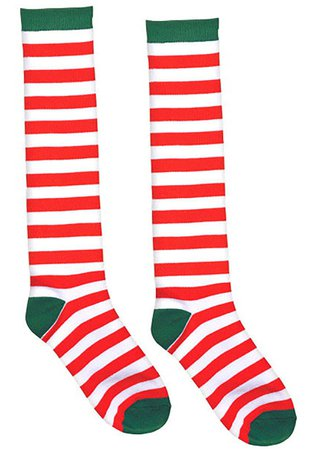 red and white striped socks - Google Search