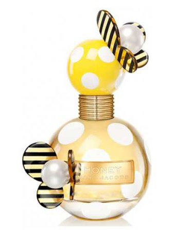 black and white and yellow dotted perfume - Google Search