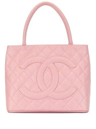 Chanel Pre-Owned Bolso Shopper Acolchado Con Logo CC 2005 - Farfetch