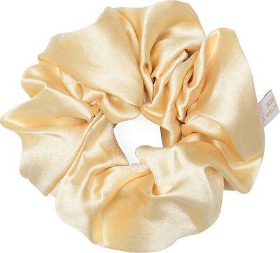 Holistic Silk Pure Silk Scrunchie - Cream - Skroutz.gr