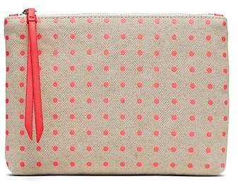 Polka Dot Small Zip Pouch