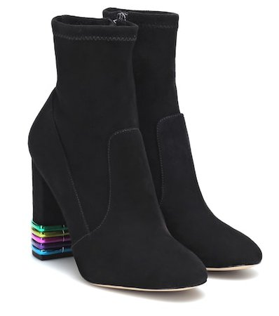 Felicity suede ankle boots