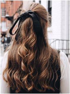 hair ribbon in it