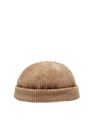 SHORT CORDUROY HAT | ZARA United States