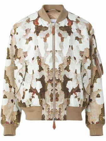 Burberry camouflage-print Bomber Jacket - Farfetch
