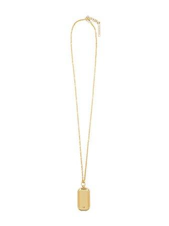 Victoria Beckham Locket Necklace Ss20 | Farfetch.com