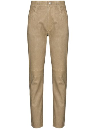 Isabel Marant Étoile high-waist slim-leg Trousers - Farfetch