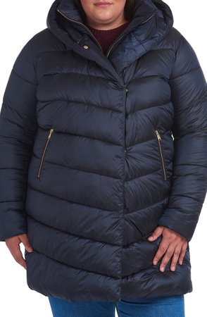 Orchy Hooded Puffer Jacket