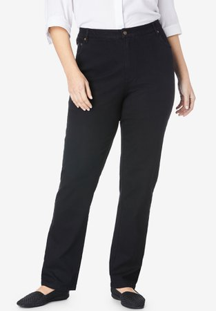 Straight Leg Stretch Jean| Plus Size Tall | Full Beauty