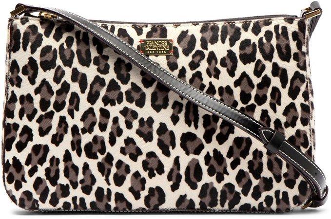 Poppy Genuine Calf Hair Shoulder Bag