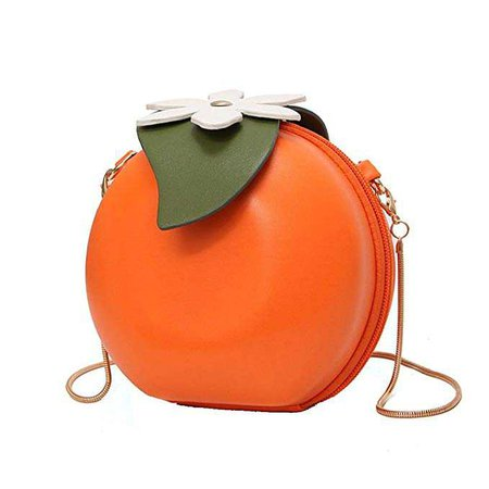 Amazon.com: MILATA Fruit Orange Shaped Women Pu Leather Clutch Purse Cross Body Bag: Clothing