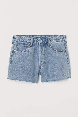 Vintage High Shorts - Blue