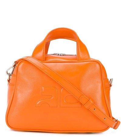 Textured Logo Tote Bag
