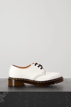 Dr. Martens 1461 Leather Brogues - White