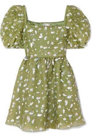 GABRIELLE'S AMAZING FANTASY CLOSET | Stine Goya | + NET SUSTAIN Monika Sequin-Embellished Silk-Chiffon Mini-Dress