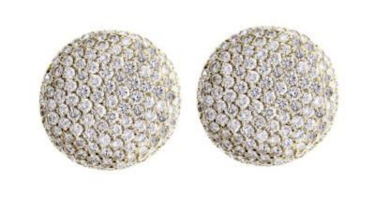 cartier earring diamond
