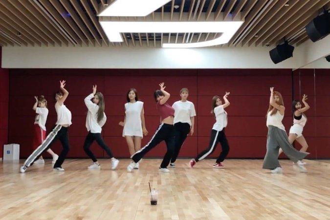 Twice - Dance The Night Away Dance Practice