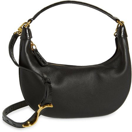 Mini Sasha Leather Shoulder Bag