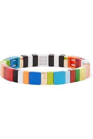 Roxanne Assoulin | Alphabet Soup enamel bracelet | NET-A-PORTER.COM