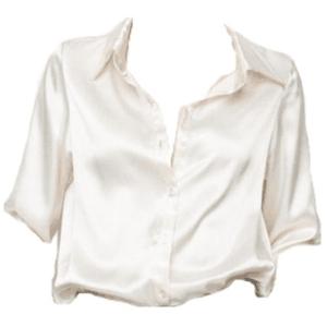 satin, silk, shirt