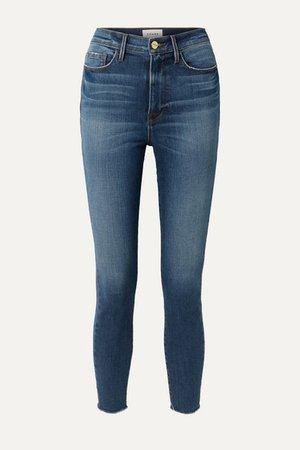 Ali High-rise Skinny Jeans - Light denim