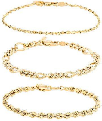 Triple Crown Bracelet Set