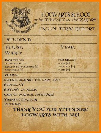 Harry Potter Character Profile