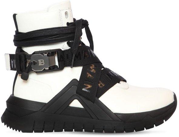 20mm B Troop Leather Sneakers